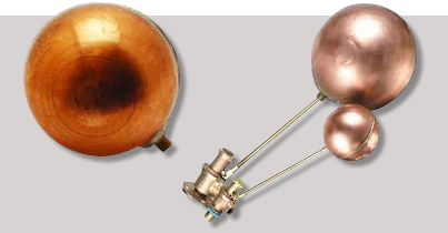 Evenproducts Copper Float and Ball Valve