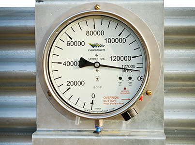 Evenproducts Manometer Tank Gauge