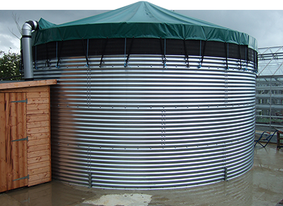 Heavy-duty reinforced PVC Water Tank Cover