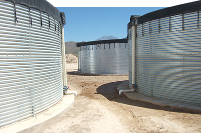 We design and manufacture Steel Water Tanks specifically to you needs